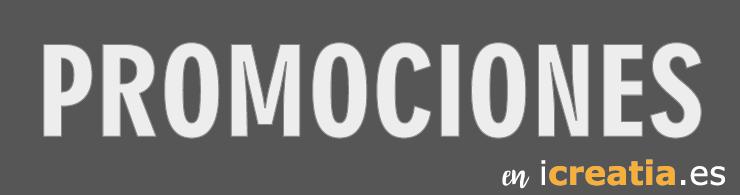 Promociones en icreatia, descuentos y promociones