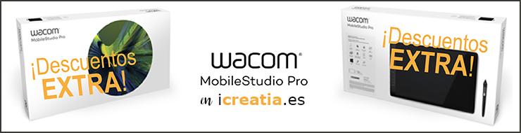 Descuentos extra en las Wacom MobileStudio Pro