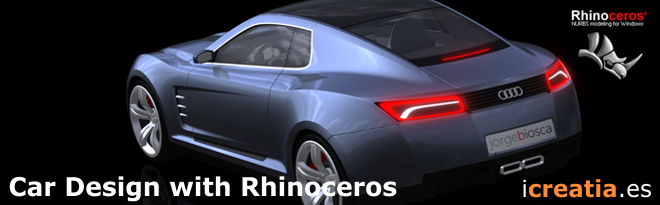 car design with rhinoceros