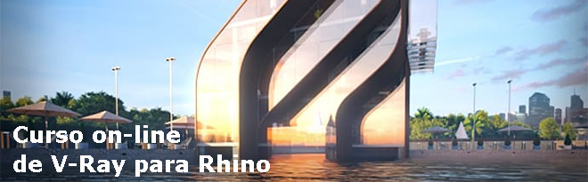 curso on-line de V-Ray para Rhino
