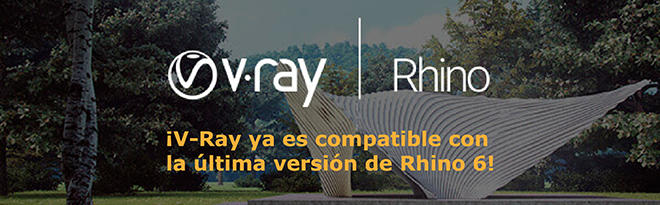 V-ray para Rhino 6 ya disponible en icreatia