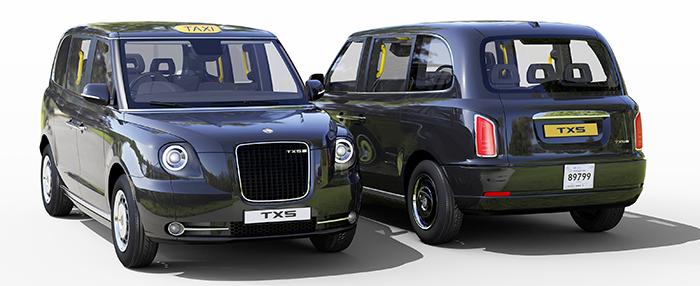 geely design diseña los nuevos taxi de londres