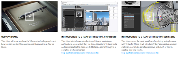 video de v-ray para rhino