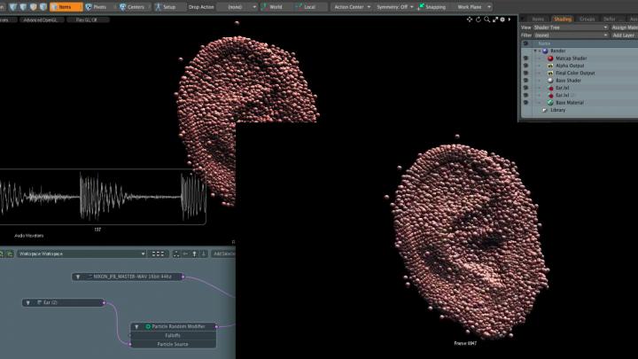 Modeling in Modo Software